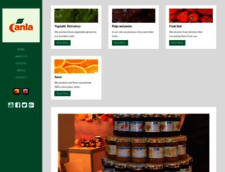 canla.com screenshot