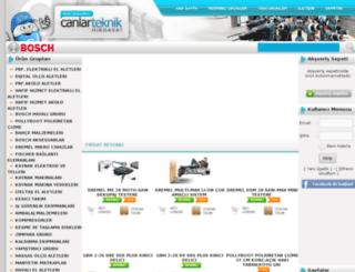 canlarteknik.com screenshot