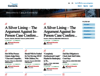 canliiconnects.org screenshot