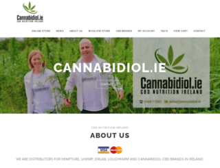 cannabidiol.ie screenshot