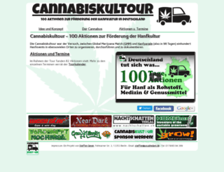 cannabiskultour.de screenshot