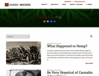 cannalawblog.com screenshot