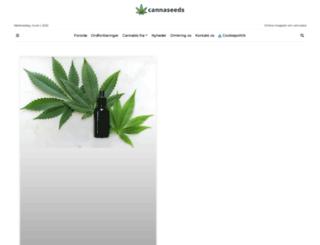 cannaseeds.dk screenshot