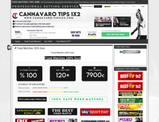 cannavaro-tips1x2.com screenshot