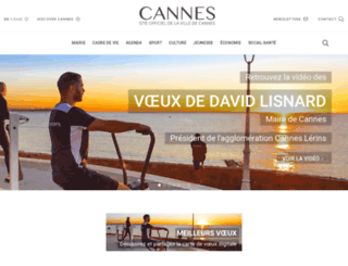 cannes.com screenshot