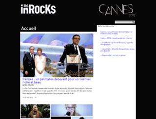 cannes2014.lesinrocks.com screenshot