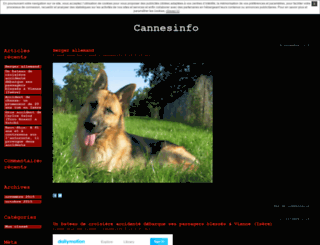 cannesinfo.unblog.fr screenshot