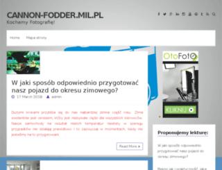cannon-fodder.mil.pl screenshot