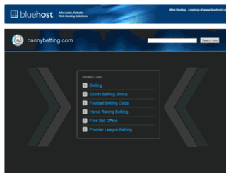 cannybetting.com screenshot
