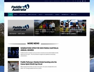canoe.org.au screenshot