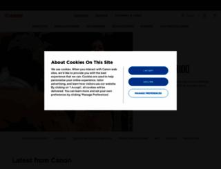 canon-me.com screenshot