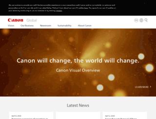 canon.info screenshot