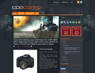 canon505.blogspot.com screenshot