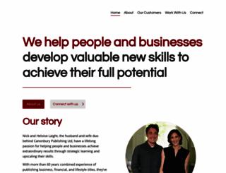 canonburypublishing.com screenshot