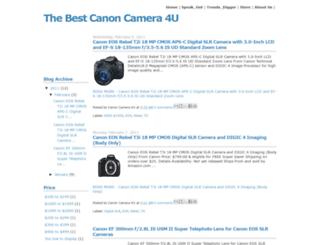 canoncamera4u.blogspot.com screenshot