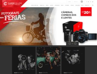 canoncollege.com.br screenshot