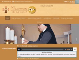 canonesasdelacruz.edu.pe screenshot