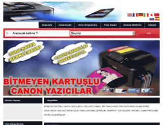 canonmurekkep.toneristanbul.com screenshot