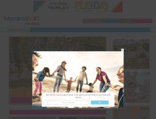 canonsburg.macaronikid.com screenshot