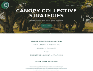 canopycollective.ca screenshot