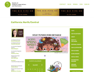 canorthcentral.scbwi.org screenshot