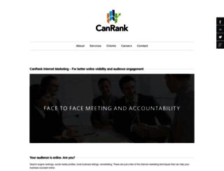canrank.ca screenshot