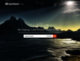 canstockphoto.com screenshot