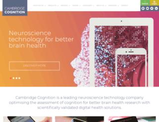 cantab.com screenshot
