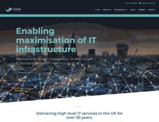 cantelsupport.com screenshot