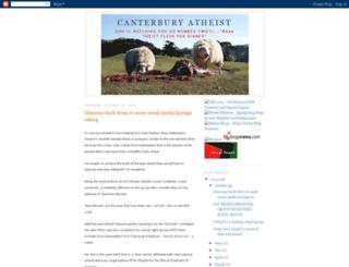 canterburyatheists.blogspot.co.uk screenshot