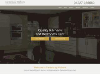 canterburykitchens.co.uk screenshot
