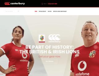 canterburysa.co.za screenshot