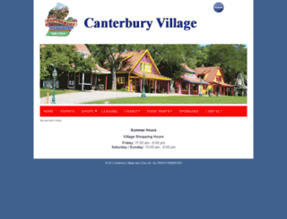 canterburyvillage.com screenshot
