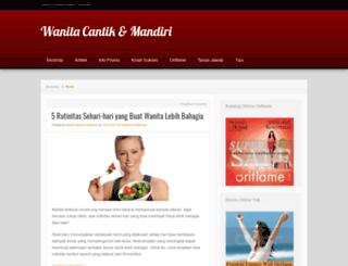 cantikdanmandiri.wordpress.com screenshot