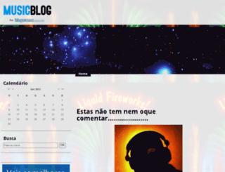 cantinhododj.musicblog.com.br screenshot