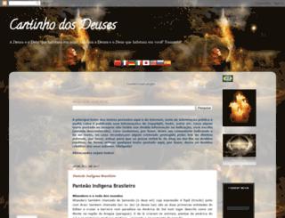 cantinhodosdeuses.blogspot.com.br screenshot