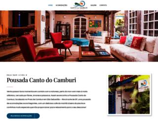 cantodocamburi.com.br screenshot