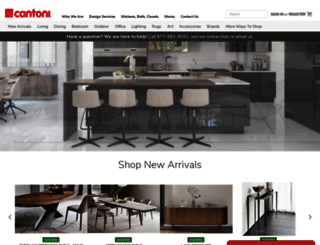 cantoni.com screenshot