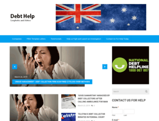 cantpaymydebt.com.au screenshot
