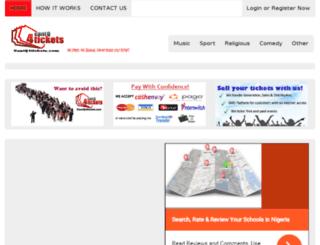 cantq4tickets.com screenshot