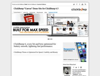 canvas.clickbump.com screenshot