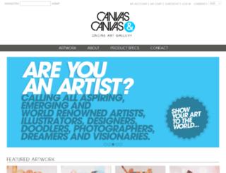 canvasandcanvas.com screenshot