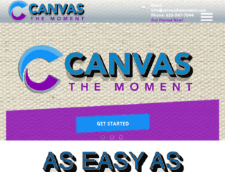 canvasthemoment.com screenshot