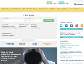 canwest.careercast.com screenshot