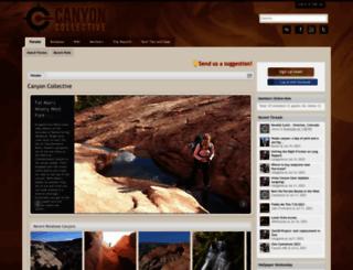 canyoncollective.com screenshot