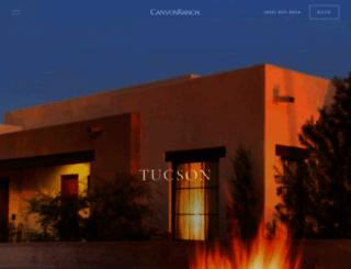 canyonranchtucson.com screenshot