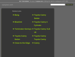 canysee.com screenshot