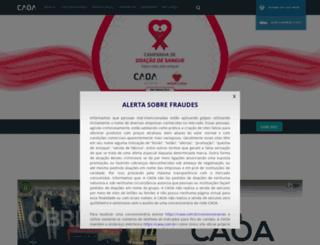 caoa.com.br screenshot