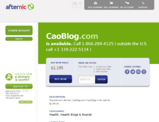 caoblog.com screenshot