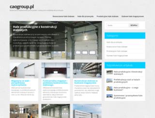 caogroup.pl screenshot